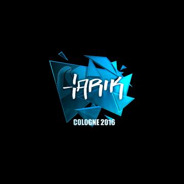 Наклейки автографы игроков esl one cologne 2016