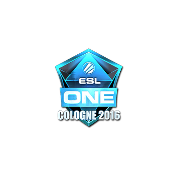 Наклейка esl one cologne 2016