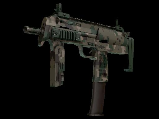 MP7   Пиксельный камуфляж «Лес»