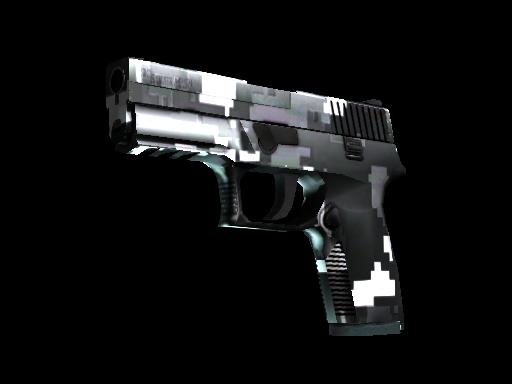 P250 | Пиксельный камуфляж «Металлический»