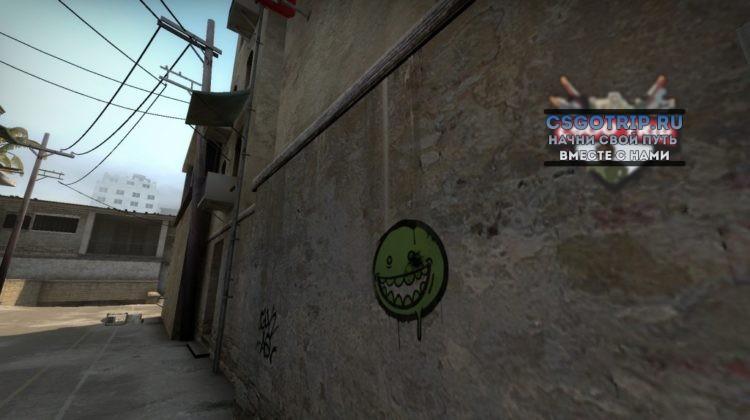 Одноцветное граффити кс го